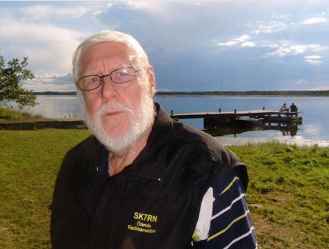 Björn SM7HDZ vid Norra Udden