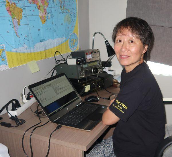 Quynh Huong Hjalmarsson och hennes maake Torsten SM3NFB  tillbringar nu några månader  i  Dangan Vietnam. Paret Hjalmarsson hälsar alla klubbens medlemmar och representerar stolt vår förening i det fjärran landet.