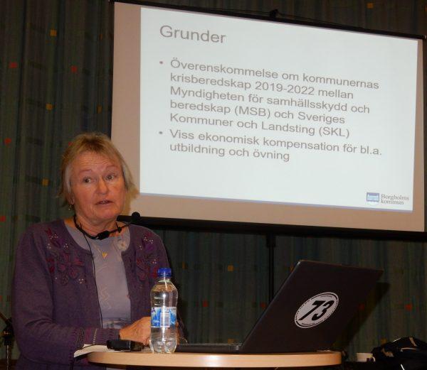 Linda Hedlund, utvecklingsstrateg vid Borgholms kommun